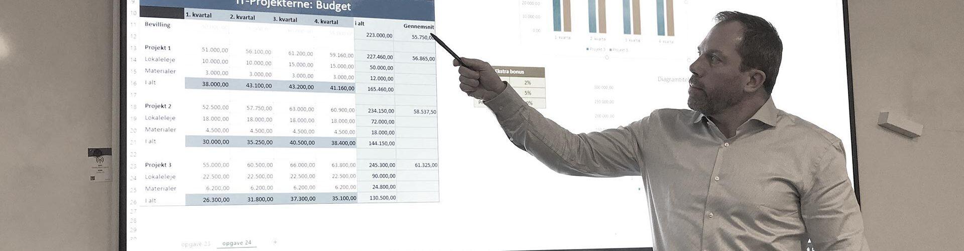 Excel - Online undervisning