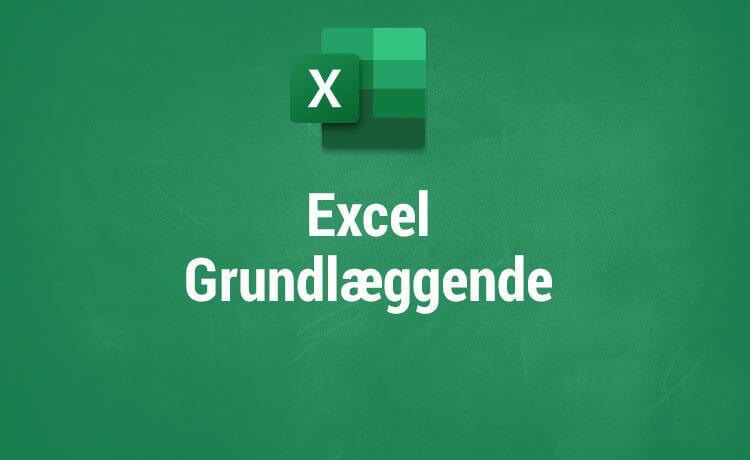 Microsoft Excel kurser - Excel Grundlæggende