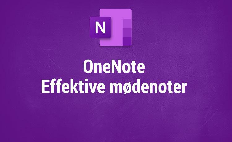 Microsoft OneNote kurser - Effektive møder