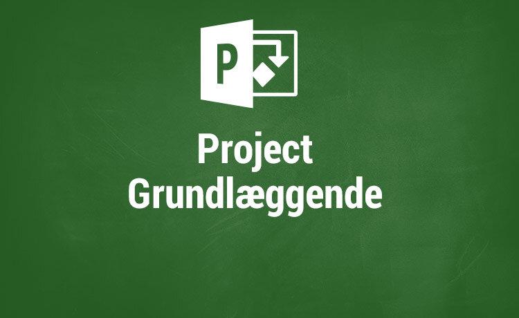 Microsoft Project kurser - Grundlæggende