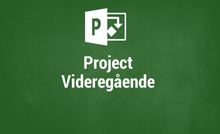 Microsoft Project kurser - Videregående