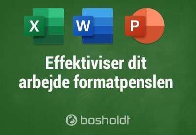 Effektiviser dine arbejdsgange formatpenslen