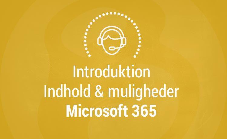 Bosholdt - Microsoft 365 introduktion