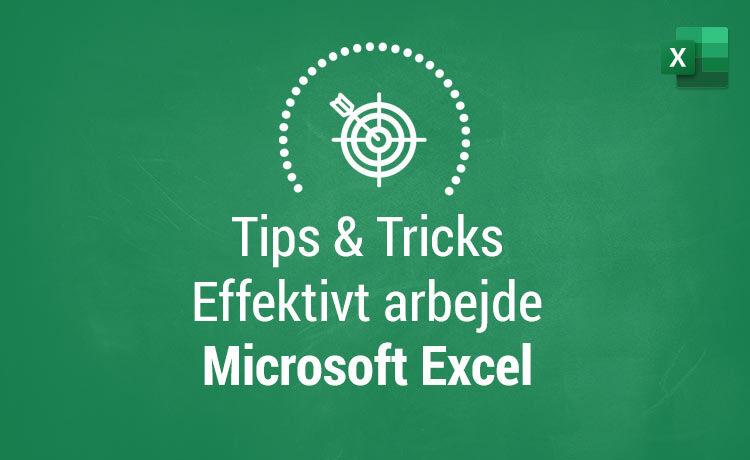 Tips og Tricks i Excel